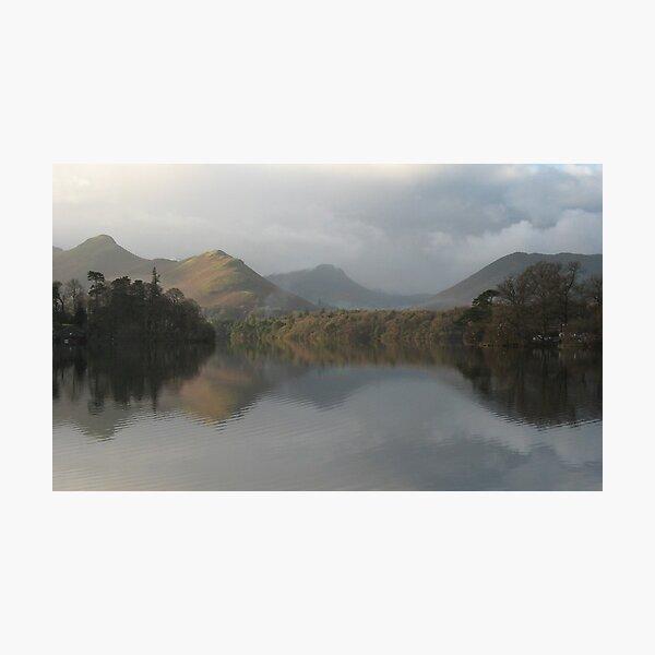 Derwentwater Reflections, Lake District, Cumbria (UK) Photographic Print