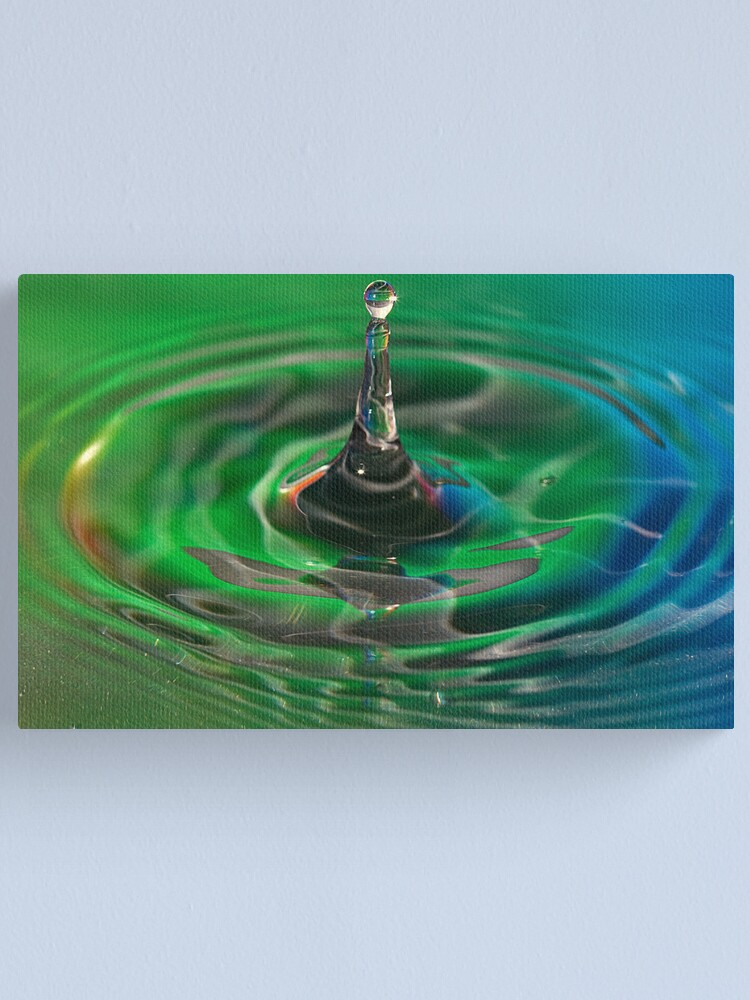 Alternate view of Water Drop Canvas Print