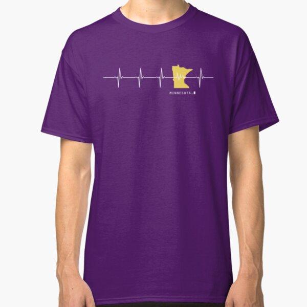 Heartbeat Minnesota Classic T-Shirt
