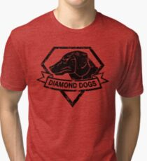 Diamond (Black) Tri-blend T-Shirt