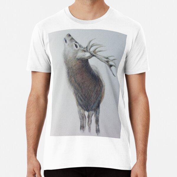 Majestic Highland Stag Premium T-Shirt
