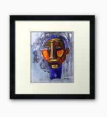 My Altered Ego..... Picasso Framed Print