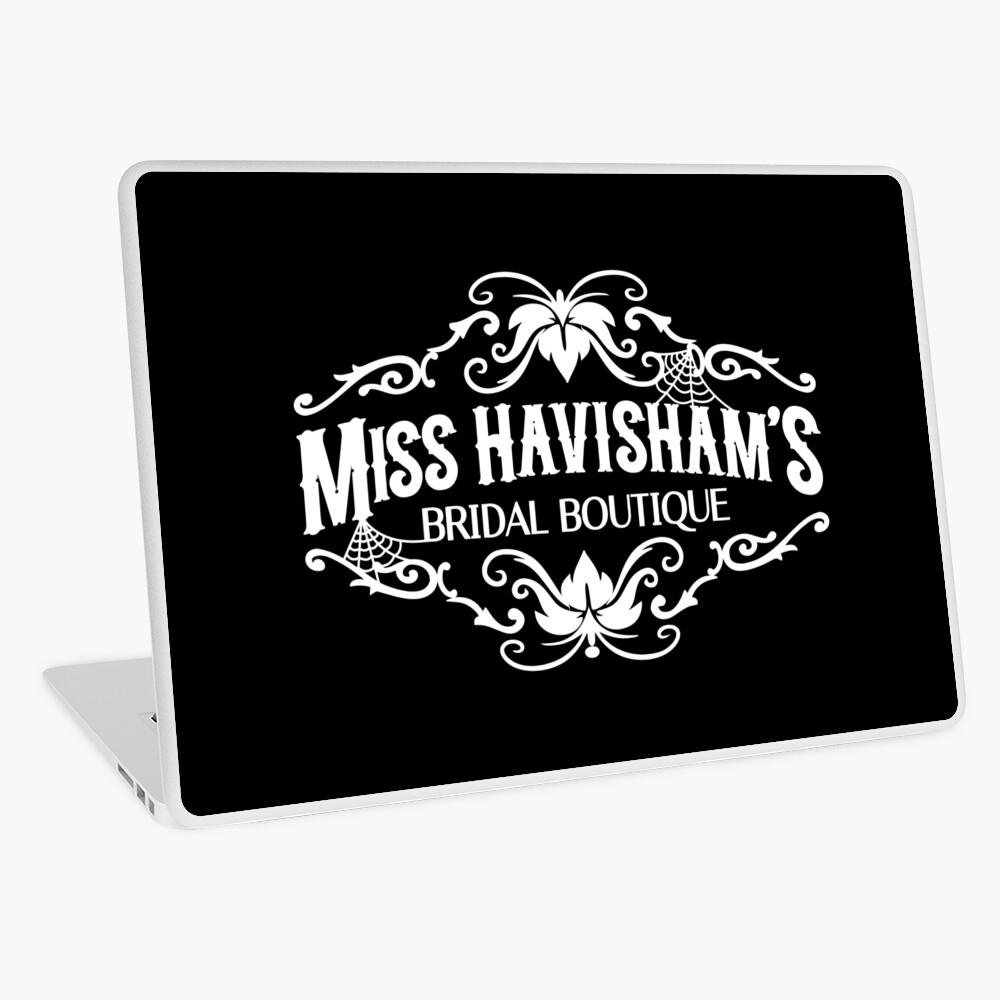 Miss Havisham's Bridal Boutique Laptop Skin