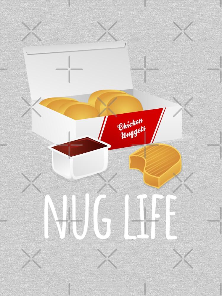 Nug Life - Chicken Nuggets by Luna-May