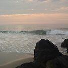 Rocks View an Ocean Grove Sunrise by Anna Lisa Yoder