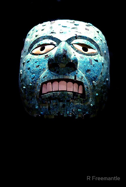 Aztec Mask by Rebecca Eldridge