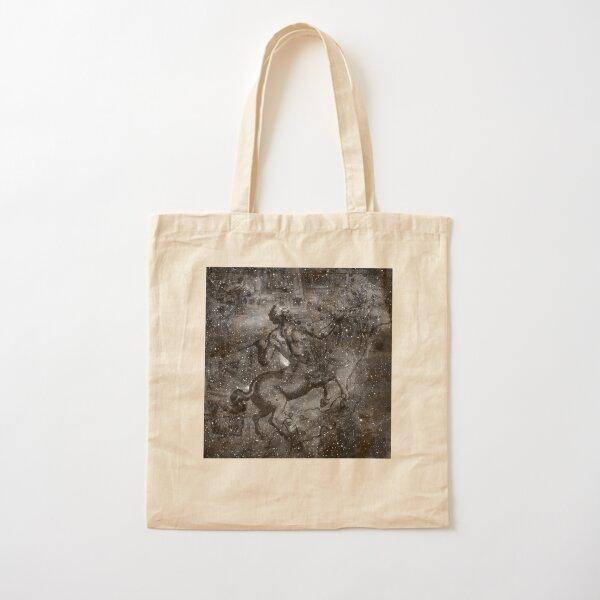When The Stars Are Right - The Lambda Centauri Nebula in Centaurus (b&w version) Cotton Tote Bag
