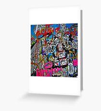 Graffiti #14 Greeting Card