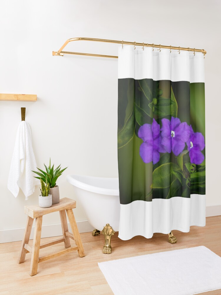 Alternate view of 3 of a Kind Shower Curtain