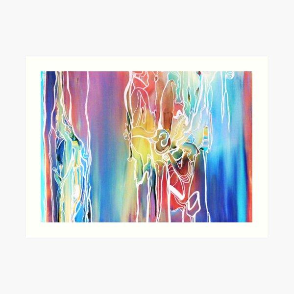 Kozmic Blues Art Print