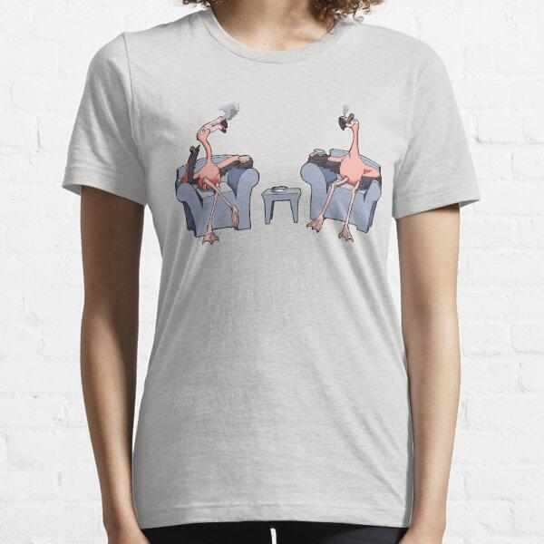 Boston Legal Flamingos  Essential T-Shirt