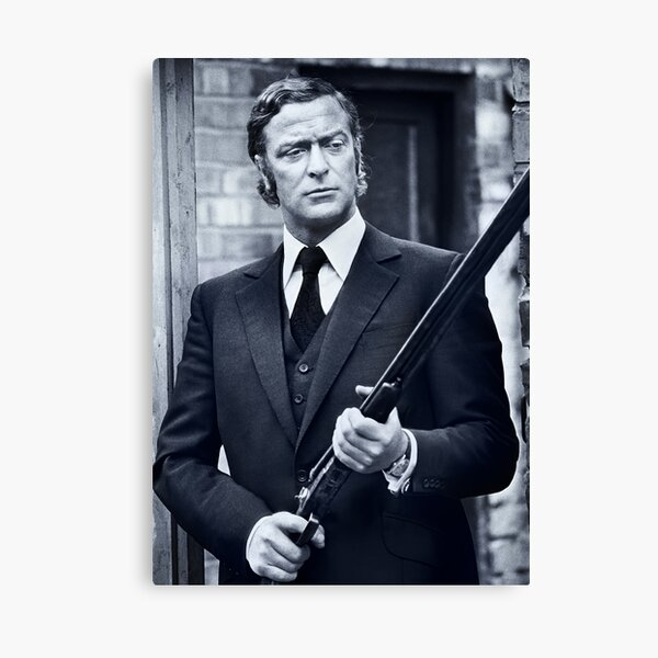 Michael Caine in Get Carter 1971 Canvas Print