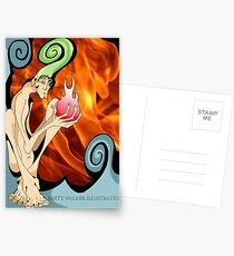 The Fire Gremlin Postcards