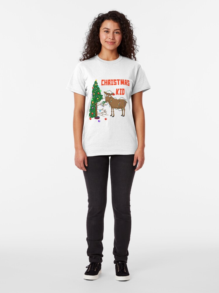 Alternate view of The Christmas Kid! Classic T-Shirt