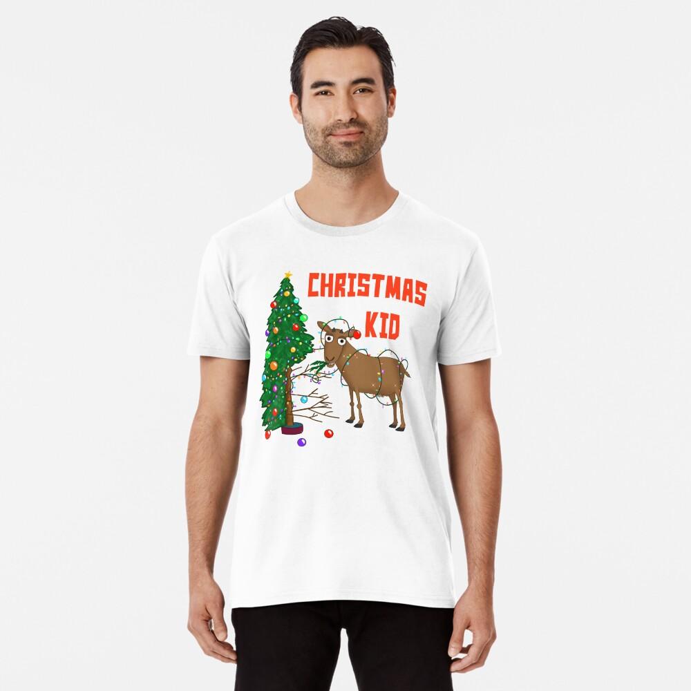 The Christmas Kid! Premium T-Shirt