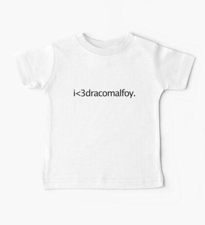 i <3 draco malfoy Kids Clothes