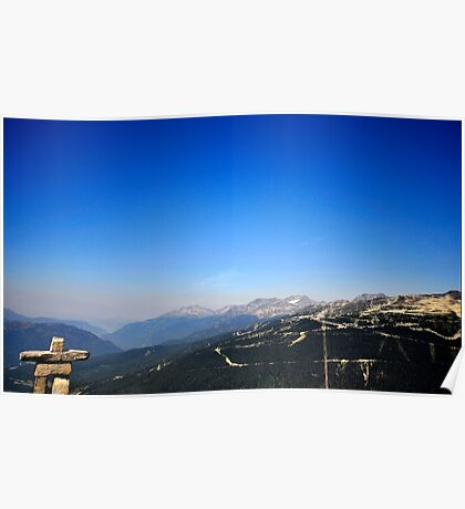 Canada Olympic mountains Poster