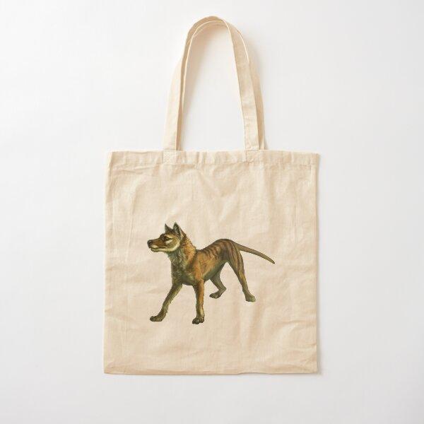 Thylacine in the Bush Cotton Tote Bag