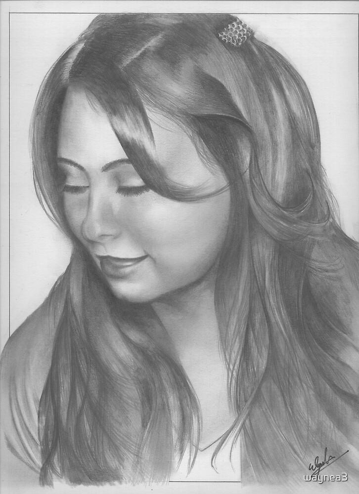 Mermanda Drawing by waynea3