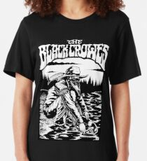 crowes bird black oldman tour 2019 2020 berantakin Slim Fit T-Shirt