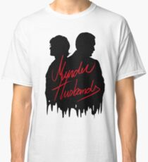 Murder Husbands [Black/Red] Classic T-Shirt