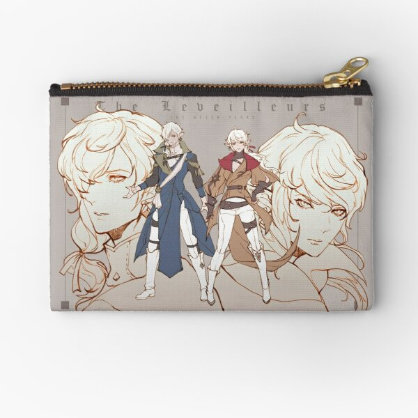 Alisaie & Alphinaud - after years Zipper Pouch