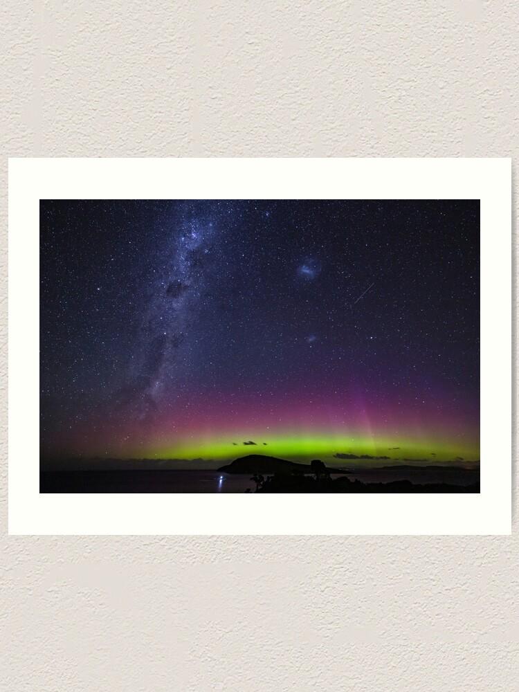 Alternate view of Aurora Australis From South Arm Art Print