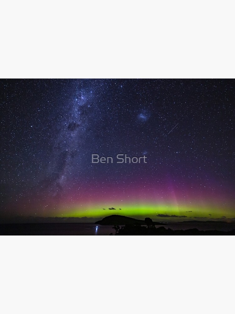 Aurora Australis From South Arm by bcshort