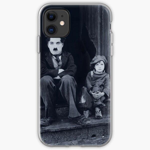 Charlie Chaplin - The Kid 1921 iPhone Soft Case