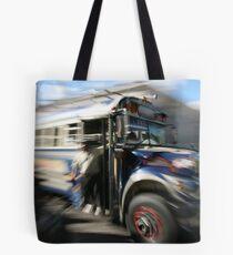 Chicken Bus Tote Bag