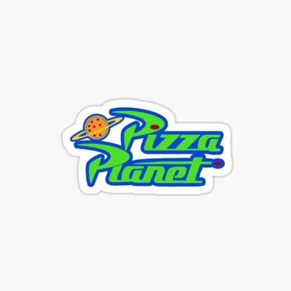 planète pizza Sticker