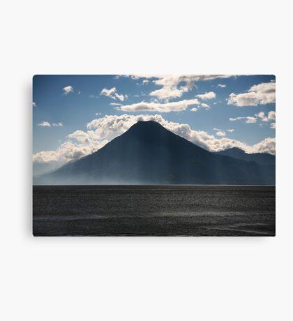 Lago Atitlan Volcano Canvas Print