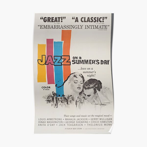 Classic Movie Poster - Jazz on a Summers Day Poster
