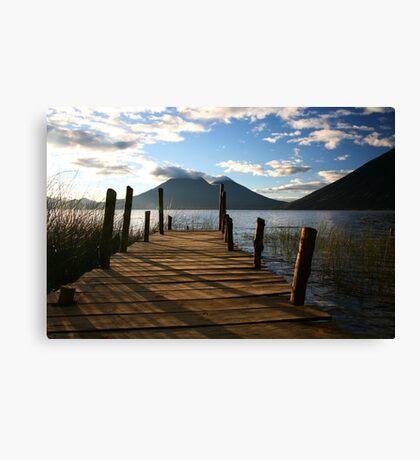 Lake Atitlan Canvas Print