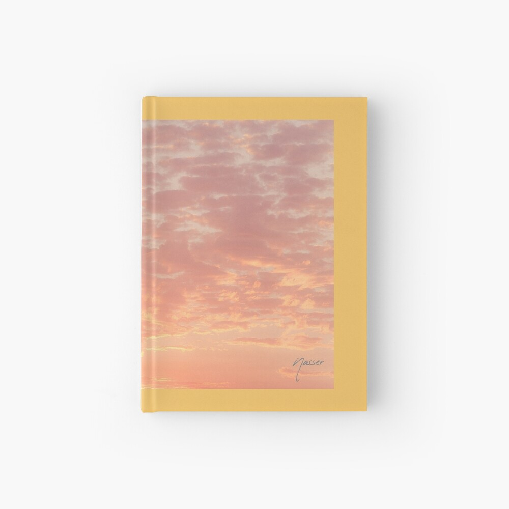 0359 Southern California Desert Sunsets - A Skyscape Landscape of Spirituality Hardcover Journal