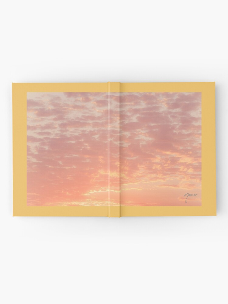 Alternate view of 0359 Southern California Desert Sunsets - A Skyscape Landscape of Spirituality Hardcover Journal