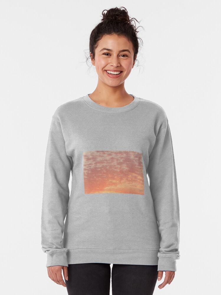Alternate view of 0359 Southern California Desert Sunsets - A Skyscape Landscape of Spirituality Pullover Sweatshirt