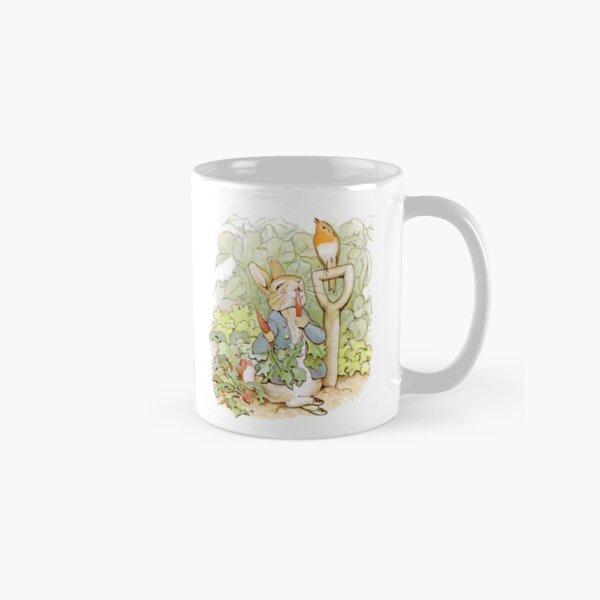 Peter Rabbit Steals Carrots Classic Mug