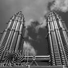 """Petronas Twin Towers"" by Sue  Fellows"