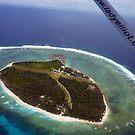 Above Lady Elliot Island by Jaxybelle