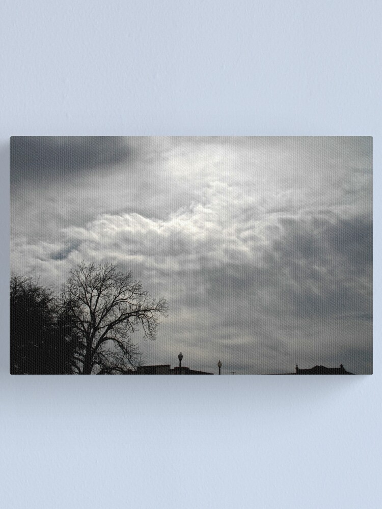 Alternate view of Aftenoon Clouds Canvas Print