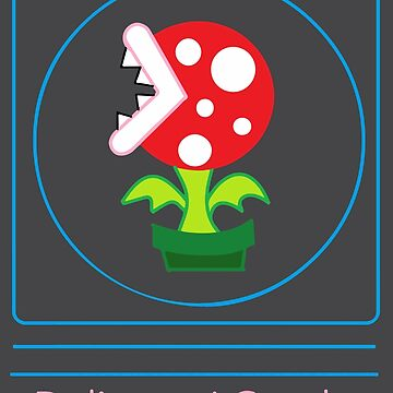 mario: piranha plant is delicate and gentle by yomitori
