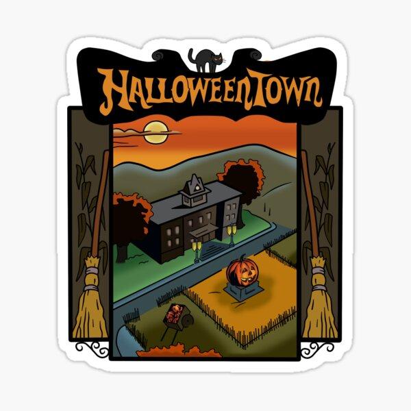 Halloweentown Book Cover Sticker