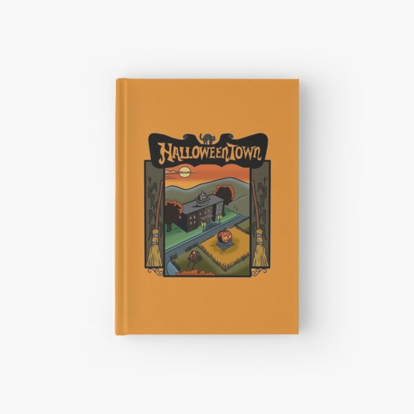 Halloweentown Book Cover Hardcover Journal