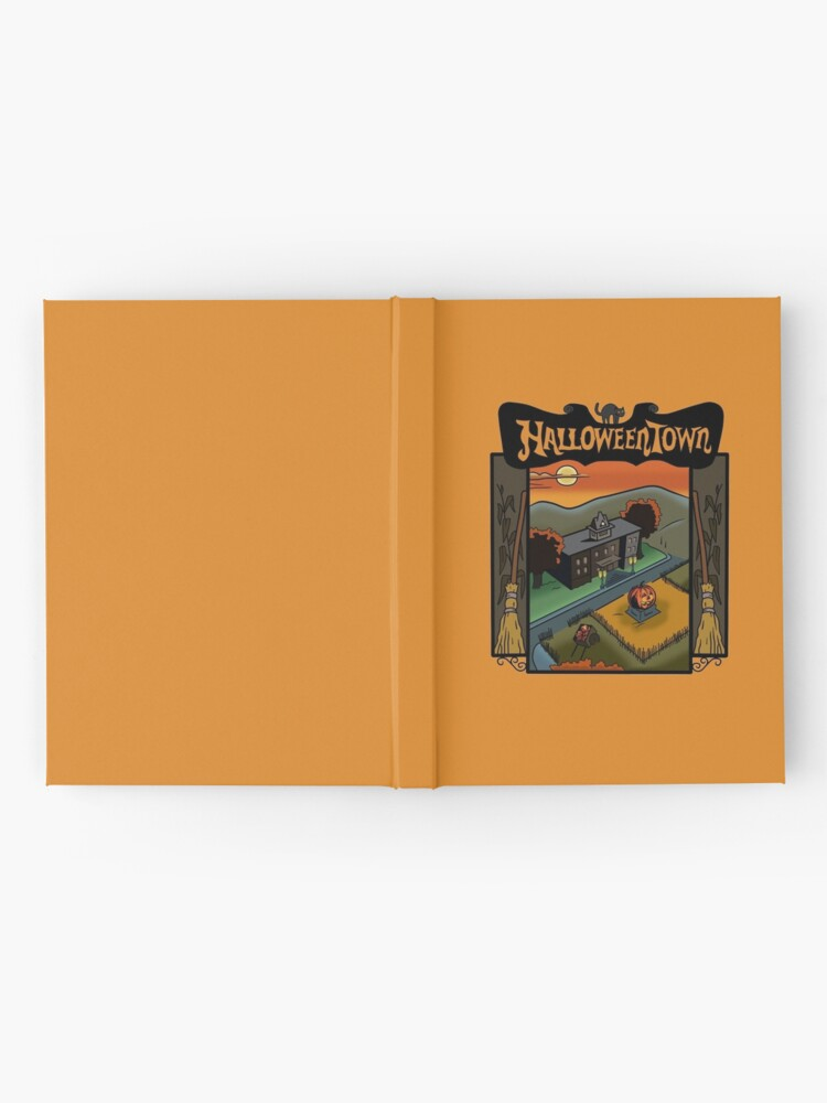 Alternate view of Halloweentown Book Cover Hardcover Journal