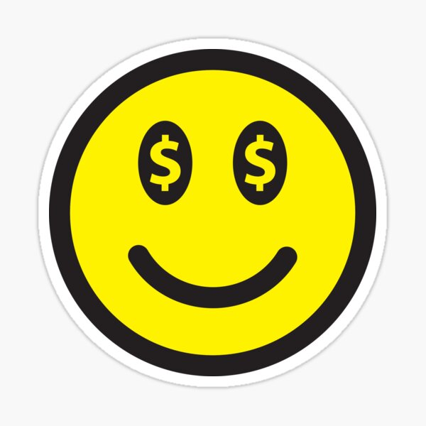 Happy Novelty 2-Smiley Face Peace Sign Dollar Bilsl Collectible MONEY L2
