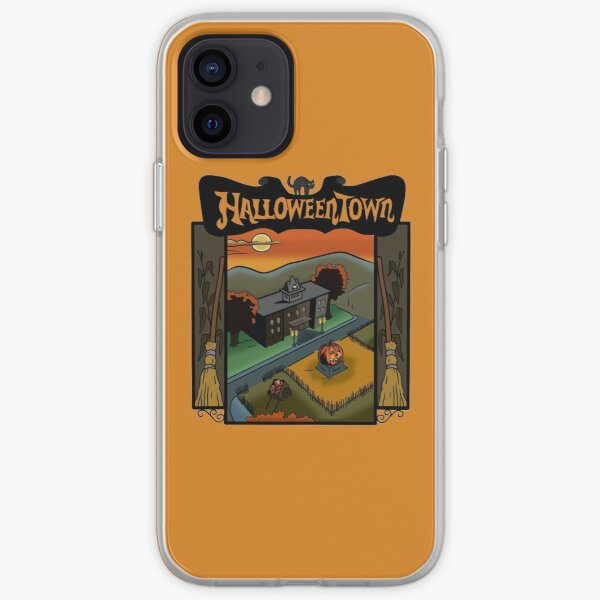Halloweentown Book Cover iPhone Soft Case