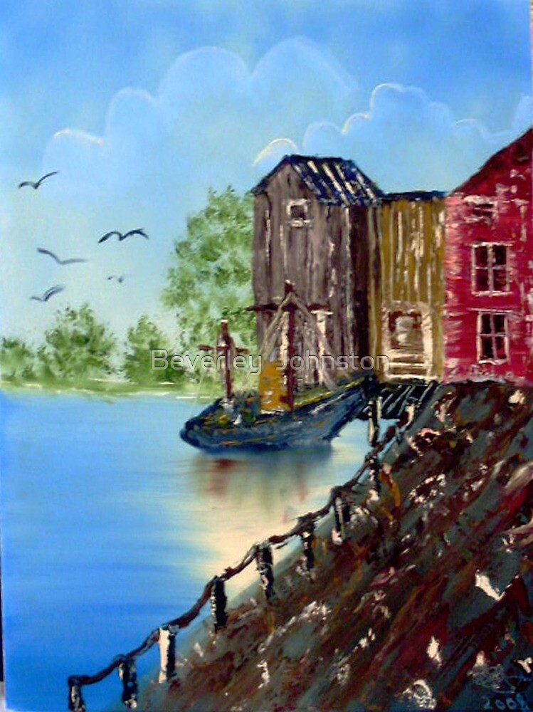 Dock of the Bay by Beverley  Johnston