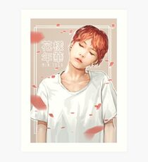 FLOWERING YEARS - SUGA  Art Print