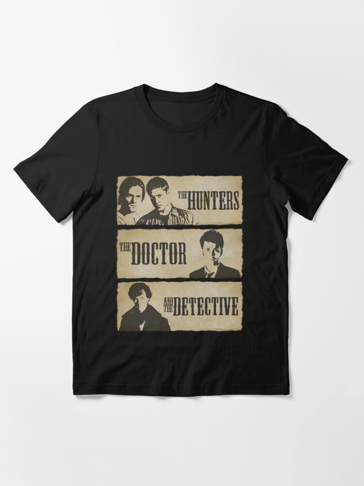 Alternate view of The Hunters, The Doctor and The Detective  Essential T-Shirt